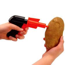 POTATO SPUD GUN TOY CLASSIC RETRO PISTOL SHOOTER JOKE KIDS CHILDREN'S FUN GIFT