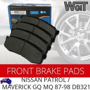 NISSAN PATROL-MAVERICK FRONT Disc Brake Pads For GQ MQ 87-98 - DB321