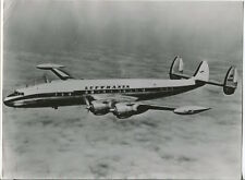 LUFTHANSA SUPER CONSTELLATION G LARGE OFFICIAL PHOTO LH GERMANY LOCKHEED 1049