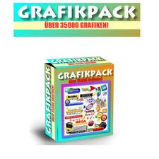 Grafikpaket mit über 35.000 Grafiken und PLR/Reseller-Lizenz