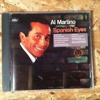 Al Martino - Spanish Eyes rare OOP early pressing CD - 1988 Capitol - NEAR MINT