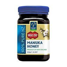 100% Pure New Zealand Manuka Health Manuka Honey MGO 250+ ( 500g ) FREE SHIPPING