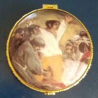 Vintage Giordano di Ponzano Trinket Box. Los Fusilamientos Del 3 De Mayo De 1808