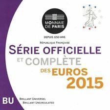 Frankreich KMS Kursmünzensatz 2015