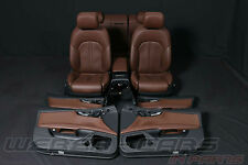 orig Audi A7 4G Leder Komfort SITZE BRAUN Lederausstattung leather seats