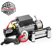 12 Volt Electric Self Recovery Winch - 12,000 lb