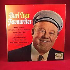 BURL IVES Favorites 1967 UK vinyl LP EXCELLENT CONDITION best of Irish Rover