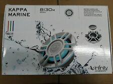 """Infinity Kappa 8130m 8"""" 3-Way Marine Convertible Speakers - Pair (White)"""