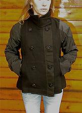 veste en laine et cuir noir MARITHÉ FRANCOIS GIRBAUD T L NEUF ETIQUETTE v. 420€