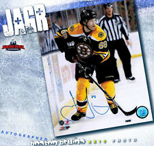 JAROMIR JAGR Boston Bruins Autographed 8 x 10 Photo - 70294