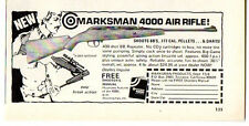 1971 Vintage Ad Marksman 4000 Air Rifles Torrance,CA