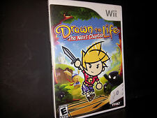 DRAWN TO LIFE: THE NEXT CHAPTER (Wii, 2009) COMPLETE GAME FAST FREE SHIPPING!