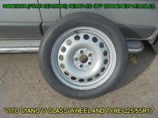 GENUINE MERCEDES VITO VIANO V CLASS WHEEL AND TYRE 225/55R17 101H - HANKOOK