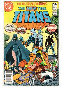 NEW TEEN TITANS #2 (1980) - GRADE 5.0 - 1ST APPEARANCE OF DEATHSTROKE!