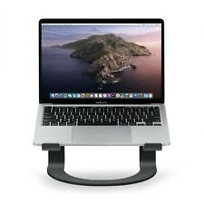 More details for twelve south curve stand / riser for macbook or any laptop - black - rrp £50