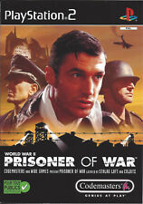 PRISONER OF WAR for Playstation 2 PS2 - with box & manual - PAL