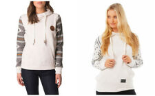 Special Rip Curl Womens Pullover Hoodie Fleece Sweatshirt Jumper Tops Size 8-14