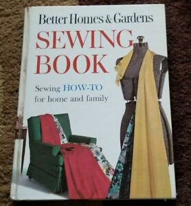 1961 BHG SEWING BOOK Better Homes and Gardens 1st Edition CUSTOM MADE LOOKS HOME