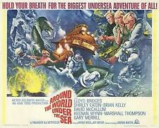 Around the World Under the Sea Movie POSTER 22 x 28 David McCallum, A
