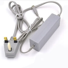 UK Plug 3PIN AC Power Adapter Wall Charger Charging for nintendo wii u Game pad