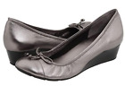 COLE HAAN LACE TALI NIKE AIR WEDGE,SILVER-SIZE 9