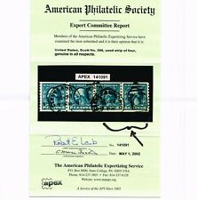EXCEPTIONAL GENUINE SCOTT #396 USED COIL PAIR APS CERT CLEVELAND OHIO CDS CANCEL