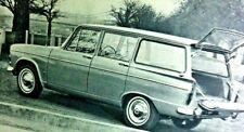 HILLMAN SUPER MINX ESTATE -1,725cc -1966 - Road Test removed from Autocar