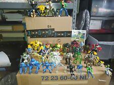Huge 44 Figure Ben 10 bundle Plus Wii Game - Some Rarer Figures
