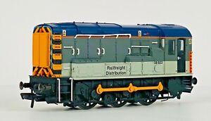 BACHMANN 00 GAUGE - 32-104 - CLASS 08 DIESEL SHUNTER RAILFREIGHT DIST 08653 UB