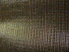 "Accordion Grille Lining PVC Mesh GOLDEN 18"" x 7"" Accordion Parts Akkordeon"