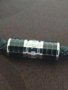 Mont Blanc leather bracelet