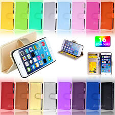 New Wallet Leather TPU JELLY Case Cover For Apple iPhone 7 6 6S Plus 5 5S 5C SE