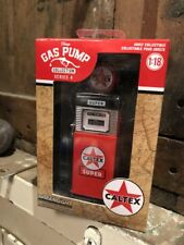 Caltex 1:18 Scale Diecast Gas Pump Greenlight
