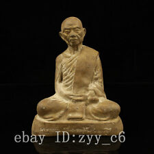 Tibet Tibetan Buddhism temple Handmade Old wiping Living Buddha statue 01