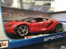 ***SALE*** Maisto 1:18 Scale Diecast Model Car - Lamborghini Centenario (Red)