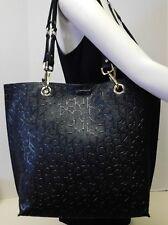 """Calvin Klein Signature Black Monogram Reversible Shoulder Bag Handbag Tote """"NWT"""""""