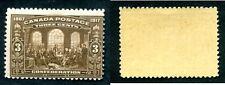 MNH Canada 3 Cent Confederation Stamp #135 (Lot #11858)