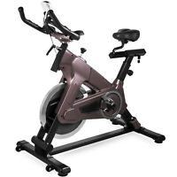 Exercise Bike Indoor Cycle Bike 40Lbs Cycling Fitness LCD Monitor Home