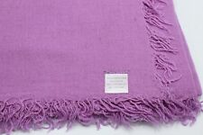 Chan Luu NEW Violet Cashmere and Silk Scarf #CHCASH66 $195