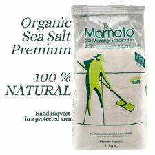 Organic Sea Salt  100% Bio Premium Natural Coarse Food Grade 1kg Hand Colected
