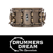"""MAPEX BLACK PANTHER 'BRASS CAT' 14""""x 5.5"""" BRASS SNARE DRUM"""