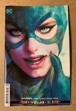 CATWOMAN #13 ARTGERM VARIANT 1ST PRINT DC COMICS (2019) YEAR OF THE VILLAIN