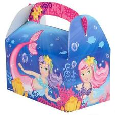 12 LITTLE MERMAID TREAT BOXES  Birthday Loot Goody Gift Bag #ST39 FREE SHIPPING