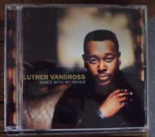 LUTHER VANDROSS Dance With My Father CD early-00's pop-R&B Beyonce Busta Rhymes