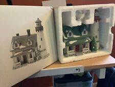 Department 56 Dickens Village Craggy Cove Lighthouse Lighted Building Free Ship