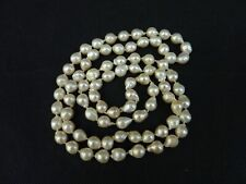 Long Necklace String Natural Large Pearls High End Prestons Retailer