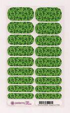 Authentic Jamberry NAS Green Ribbon - Full Sheet Exclusive Rare Nail Art Studio