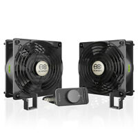 DVR Quiet Cooling Blower Fan Sistema 12/for Receivers AV Cabinet Components Amps AC infinity Aircom S6