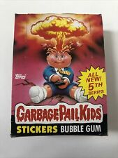 More details for garbage pail kids all new 5th series empty box 1986 original