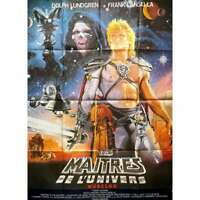 MASTERS OF THE UNIVERSE Original Movie Poster  - 47x63 in. - 1987 - Musclor, Dol